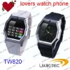 Fashionable GSM cellphone Lovers watch phone TW820