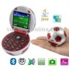 Football Style, JAVA Bluetooth FM function Clamshell Design Mobile Phone, Dual sim card Dual standby, Dual band, Network: GSM900
