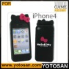 For Iphone 4 hello kitty silicon cover