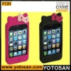 For Iphone 4S silicon case hello kitty cover