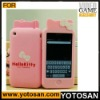 For Iphone 4S silicon cover hello kitty case