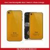 For Mobile Phone Back Cover Housing With Black Frame-Orange