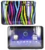 For Motorola Xoom Rainbow Zebra Hard Case