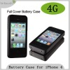 For iPhone 4 backup battery 1700mAh capacity
