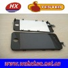 For iPhone 4 black front panel