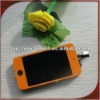For ipod touch 4 complete lcd replacement orange color