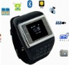 Free Shipping Watch phone 2G,different kinds language,Dual SIM Card ,MP3 watch phone