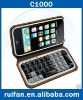 Free shipping !100% NEW C1000  Dual SIM java TV Qwertykeypad mobile phone