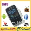 Free shipping Android 2.3 cellphone F603 support gps+wifi+tv