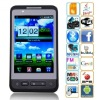 Free shipping Flying F9191 3.8inch Capacitive multi-touch Analog TV WIFI GPS WCDMA 3G mobile phone