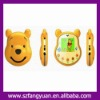 Free shipping Unlocked bear shape cartoon child baby mobile phone C102