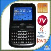 Full Keypad Three Sim TV Phone with Java