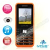 G'FIVE C100 dual sim cards music color unlocked mobile with camera and FM radio
