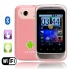 "G13 Quad Band Dual SIM Dual Standby 2.9"" Touch Screen Android 2.2.1 WIFI Bluetooth Smart Phone -Pink"