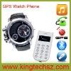 GPS+AGPS Dual mode global positioning GPS watch phone