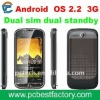 GPS Android Phone 3G Dual SIM  PC2000