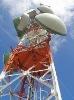 Galvanized microwave communication steel  tower