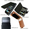 Genuine leather made i phone covers