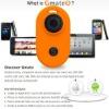 Gmate via Bluetooth DUAL SIM phone kit for iPhone + gmate device = dual sim phone