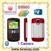 Good quality gsm 3 sim tv mobile phone