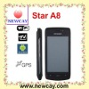 Google android phone Star A8 with GPS
