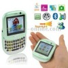 H01 Light Green, Dual sim card Dual standby, Dual Cameras ,Support Flashlight / JAVA / FM / Bluetooth / MSN / Facebook / Yahoo,