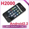 "H2000 Android 2.2 OS 3.5"" Capacitive Touch Screen Dual Sim Smartphone"