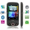 H588 Black, Bluetooth FM function Mobile Phone with Metal cover, Dual Sim cards Dual standby, Dual band, Network: GSM900 / 1800M