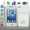 H6, Analog TV (PAL/NTSC/SECAM), WIFI & JAVA Bluetooth FM Function Touch Mobile Phone, Slip-operation can change the menu (4 page