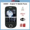 H808D Digital TV DVB-T Dual sim card wifi gsm gprs digital mobile phone