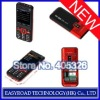H999+ Dual Band Tri sim Cards with FM Bluetooth Cell Phone(Black)