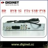 HD FTA receiver with USB/PVR satellite receiver