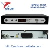 HD MPEG4 H.264 DVB-T receiver with PVR USB