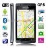 HD7000 Black, GPS + AGPS, Android 2.3 Version, Analog TV (PAL/NTSC/SECAM), Wifi Bluetooth FM function 4.1 inch Capacitive Touch