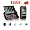 HOT sales in Mexico celular T5000 WIFI TV phone