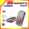 HSDPA/WCDMA 3G android phone A810