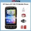 HT Desire G7 4.0 inch WIFI Dual sim cards TV phone JAVA 2.0 Flip mute Gravity inducer