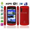 Hero H7000 Black + GPS, Android 2.2 Version, 4.3 inch Capacitive Touch Screen, Wifi & Bluetooth FM function Mobile Phone, Dual S