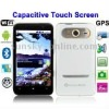 Hero H7000 Red + GPS, Android 2.2 Version, 4.3 inch Capacitive Touch Screen, Wifi & Bluetooth FM function Mobile Phone, Dual Sim