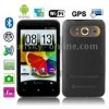 Hero H7300 Black + GPS, Android 2.3 Version, 4.3 inch Capacitive Touch Screen, Wifi & Bluetooth FM function Mobile Phone, Dual S