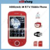 Hero H808 Wifi TV phone Dual sim Card Quad Band Java FM Unlocked Touch Screen Cell Phone