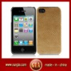 High quality PU+PVC case for iphone 4