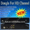 High speed satellite receiver New product HD Dongle used for Middle East
