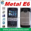 Hot Sale 3 chip cell phone E6 For South American Market