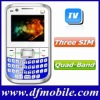 Hot Sale QWERTY Keyboard Cheap TV Cellphone Q9