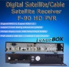 Hot Sale high definition receiver Lexuzbox F90 FTA linux satellite receiver multi media used used for Argentina