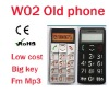 Hot Selling Elderly Cell Phone W02