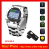 Hot Selling Quad Band Camera Watch Mobile Phone
