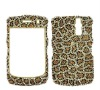 Hot fashion leopard Bling diamond mobile phone case for BB8520i