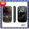 Hot sales: 3 sim mobile phone Q777 / tv mobile phone/ dual cameras fashion design